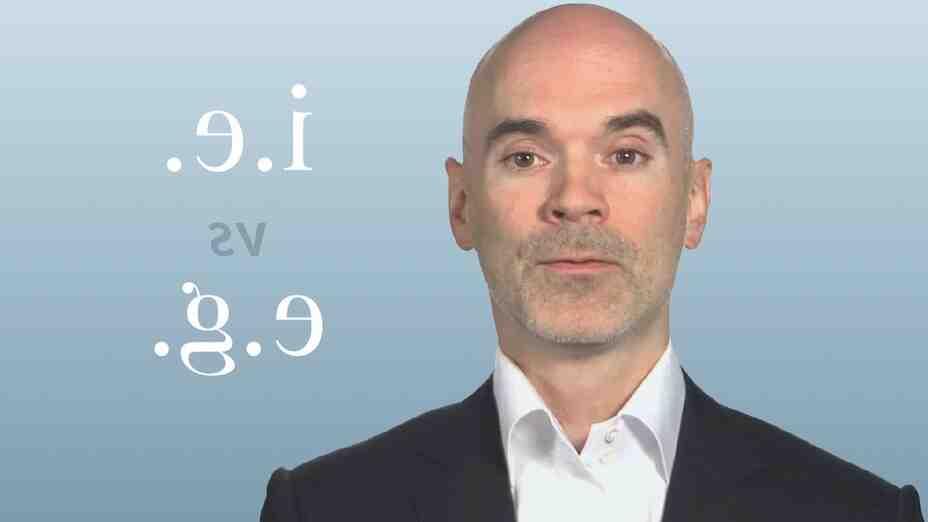 """Comment utiliser """"i.e"""" et """"e.g."""""""
